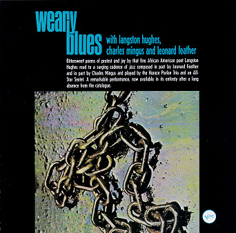 The theme of music in the poem weary blues by langston hughes